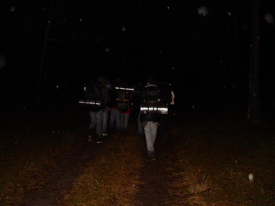 Marsz w ciemność